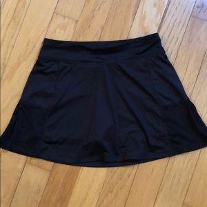 Girls size XL (14-16) BLK polyester/spandex skort